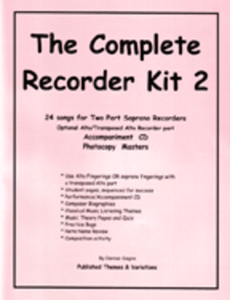 Complete Recorder 2 - Teacher