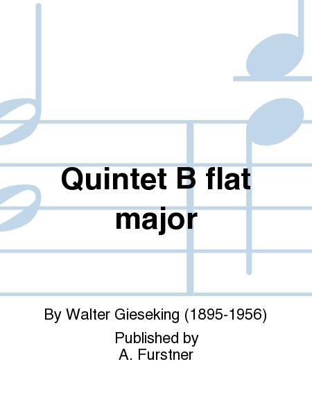 Quintet B flat major