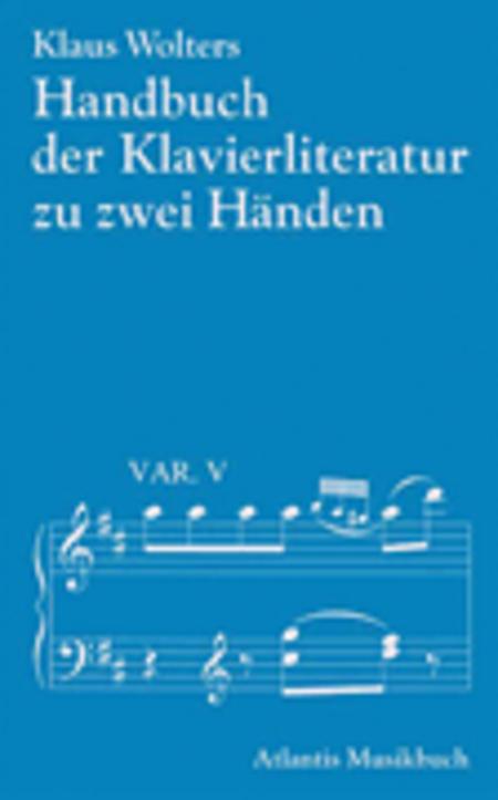 Handbuch der Klavierliteratur zu zwei Handen