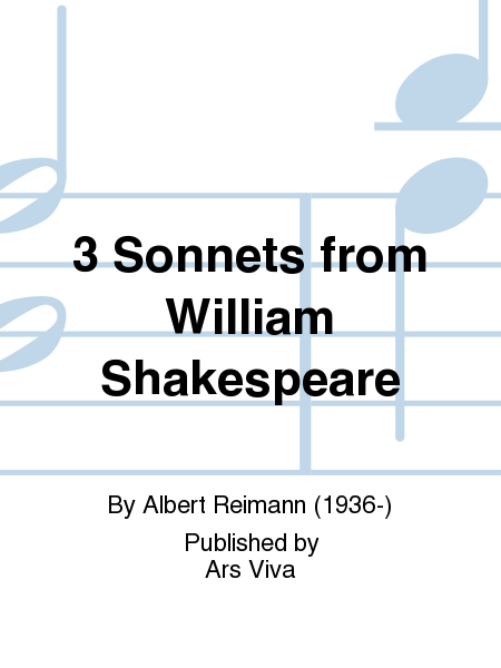 3 Sonnets from William Shakespeare