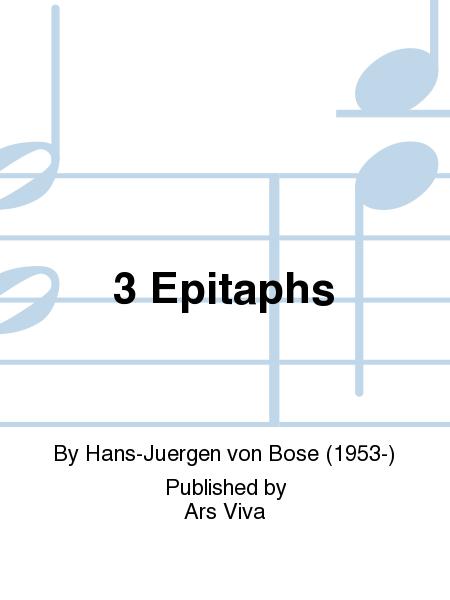 3 Epitaphs