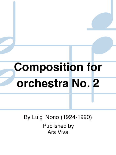 Composition for orchestra No. 2