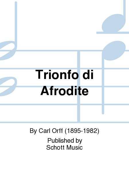 Trionfo di Afrodite