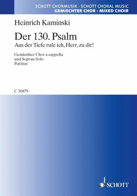 Der 130. Psalm op. 1a