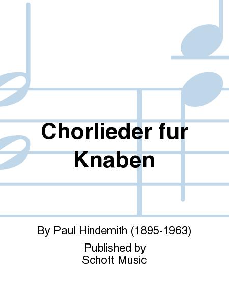 Chorlieder fur Knaben