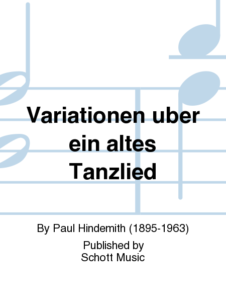 Variationen uber ein altes Tanzlied