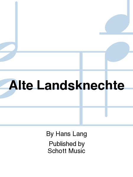 Alte Landsknechte