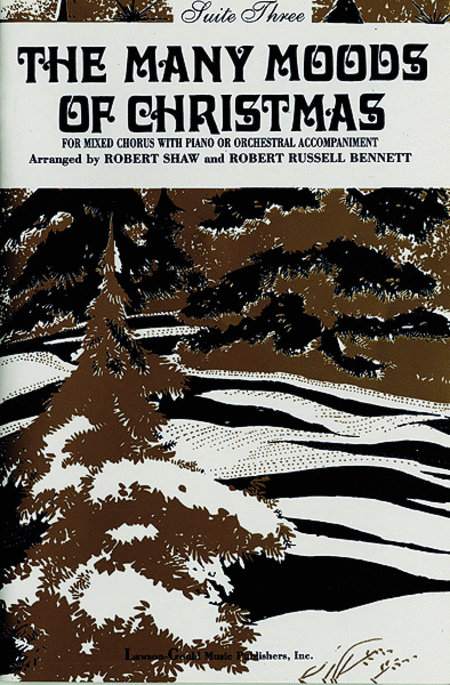 Many Moods Christmas - Suite 3 (SATB - Choir)