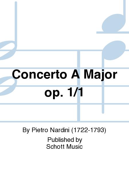 Concerto A Major op. 1/1