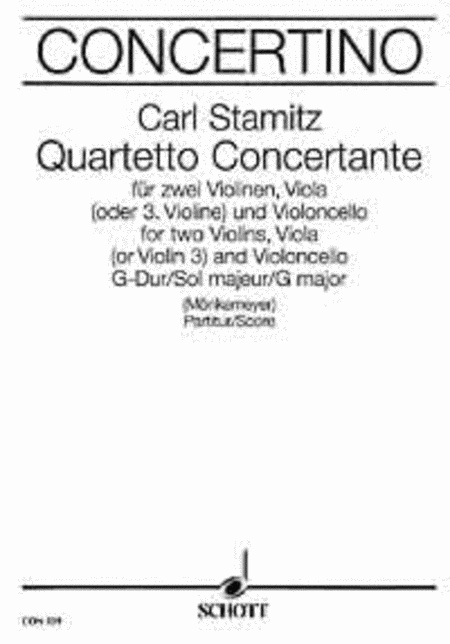 Quartet concertante G Major