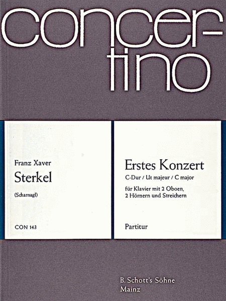 First Concerto C Major, op. 20 op. 20