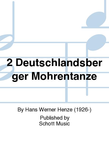 2 Deutschlandsberger Mohrentanze