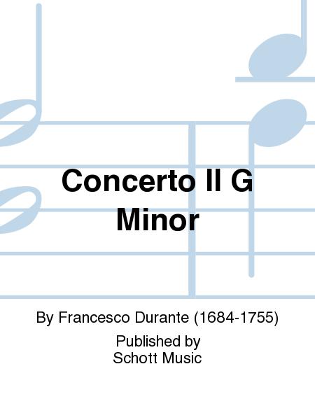 Concerto II G Minor