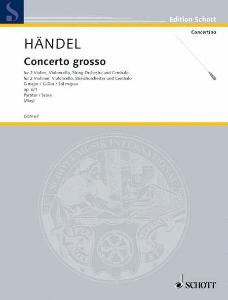 Concerto grosso op. 6 HWV 319