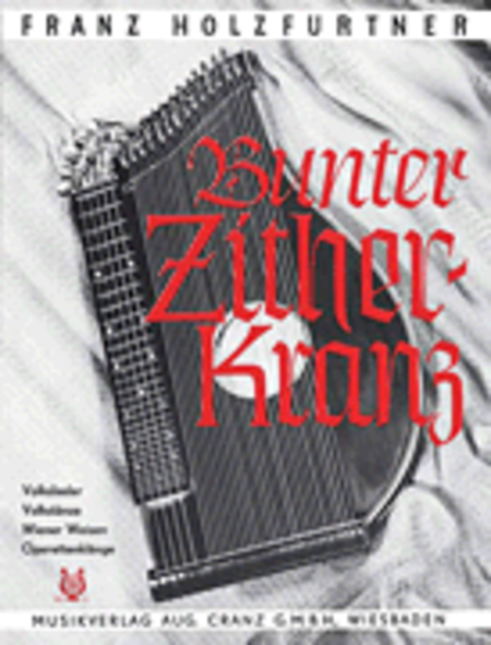 Bunter Zither-Kranz