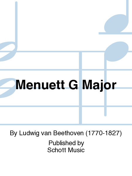 Menuett G Major