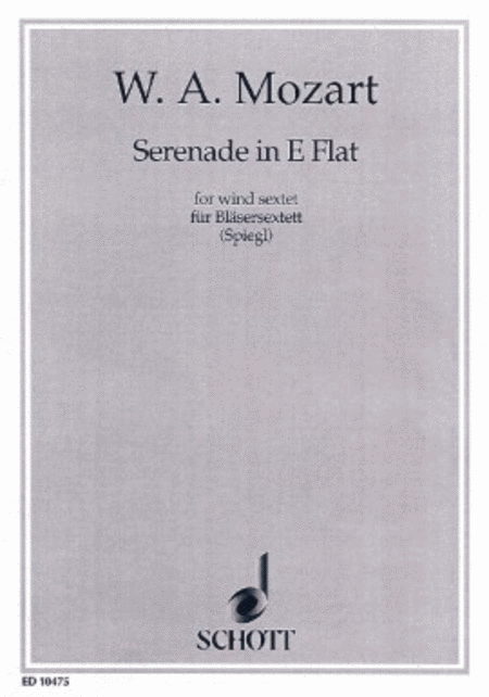 Serenade in E flat Major KV 375