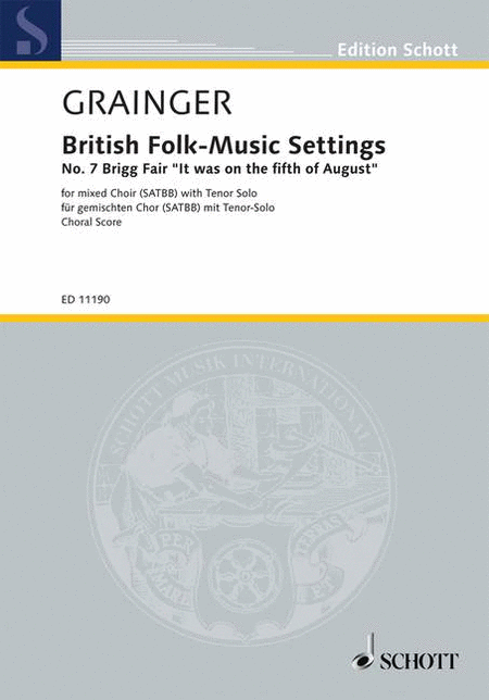 British Folk-Music Settings