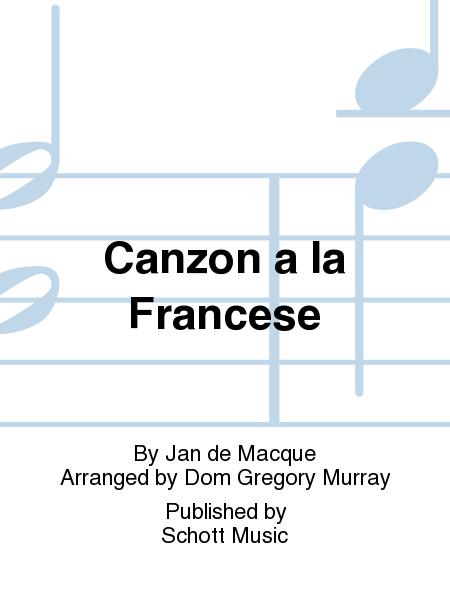 Canzon a la Francese