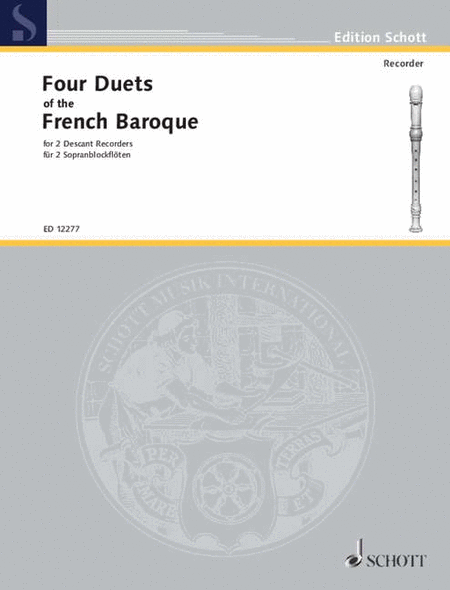 4 Duets of the French Baroque