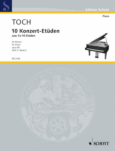 10 Concert Etudes op. 55 Band 2