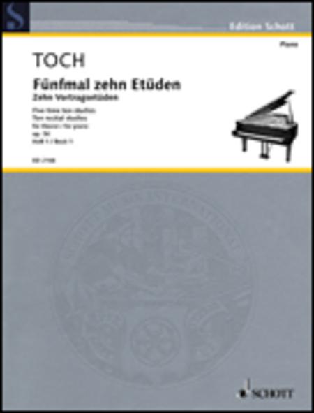 10 Vortrags-Etuden op. 56