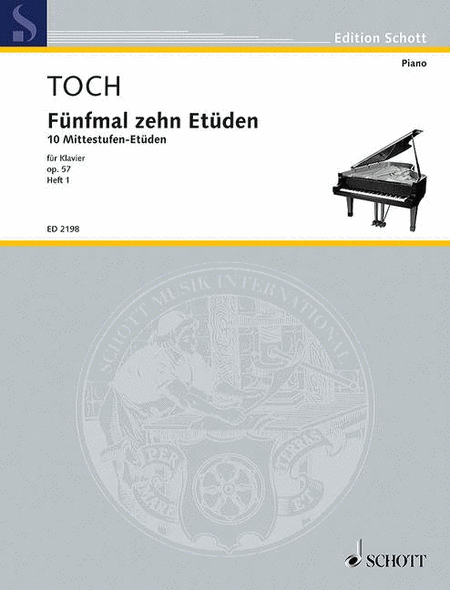 Five Times Ten Etudes op. 57 Band 1