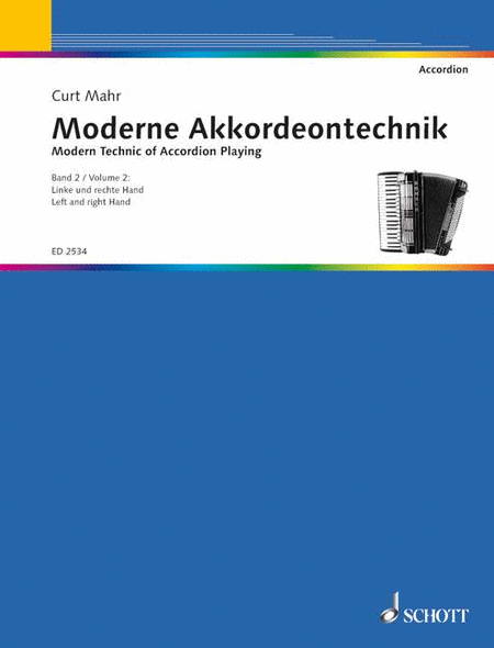 Modern Technic of Accordion Playing Band 2
