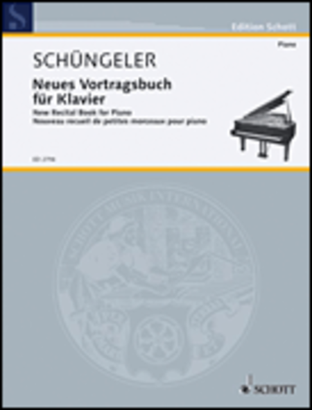 New recital book for piano Band 2