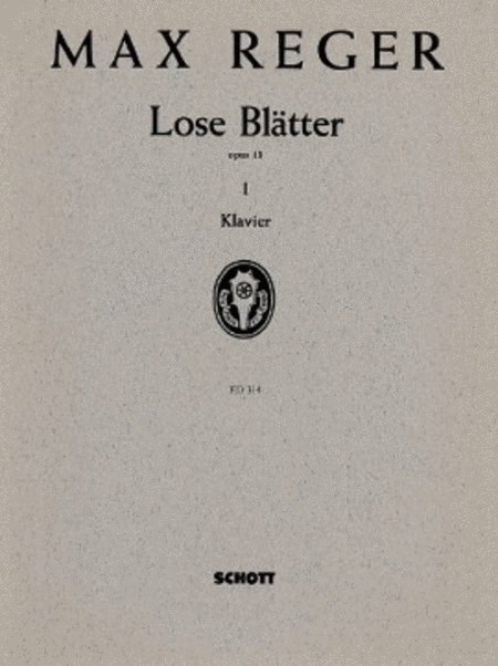 Lose Blatter op. 13 Band 1