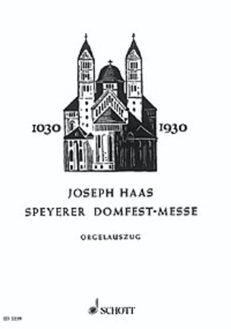 Speyerer Domfestmesse op. 80