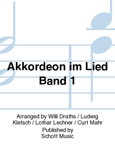 Akkordeon im Lied Band 1