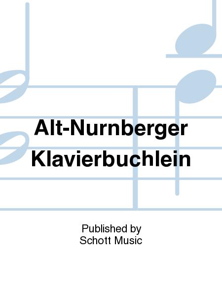 Alt-Nurnberger Klavierbuchlein