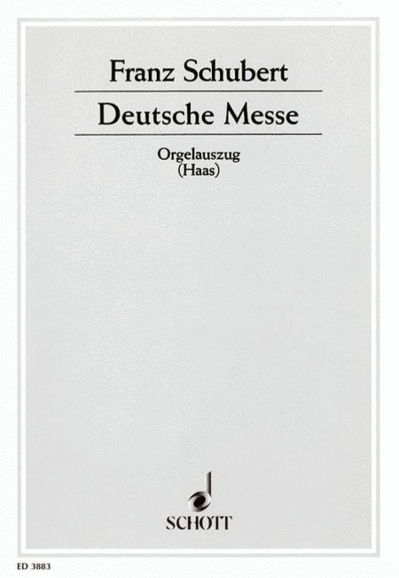 Deutsche Messe D 872
