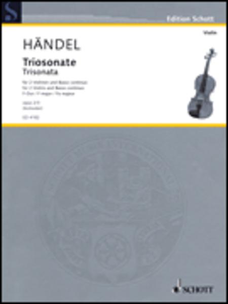 Nine Trio Sonatas op. 2 Nr. 3