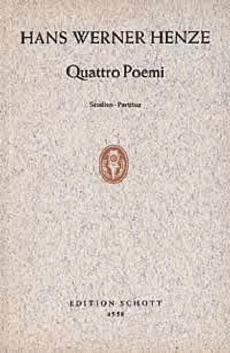 Quattro Poemi
