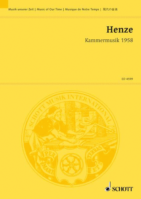 Kammermusik 1958