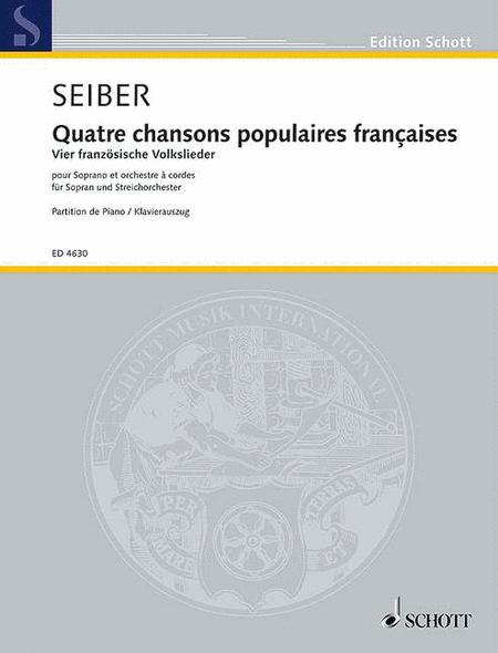 Quatre chansons populaires francaises