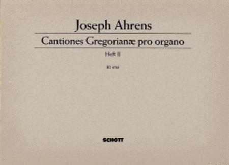 Cantiones Gregorianae pro organo Band 2