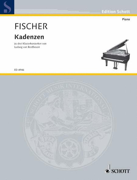 Cadenzas of 3 Piano concertos of Beethoven