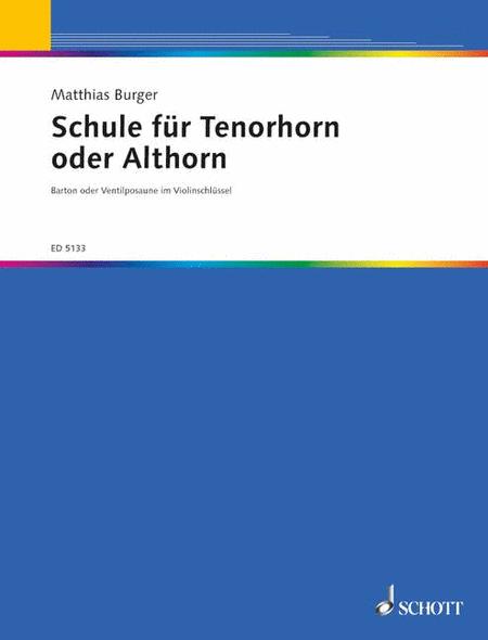 Schule fur Tenor- oder Althorn