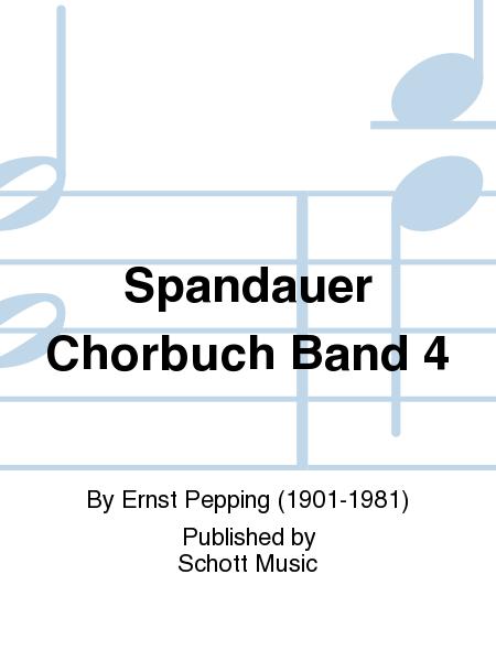 Spandauer Chorbuch Band 4