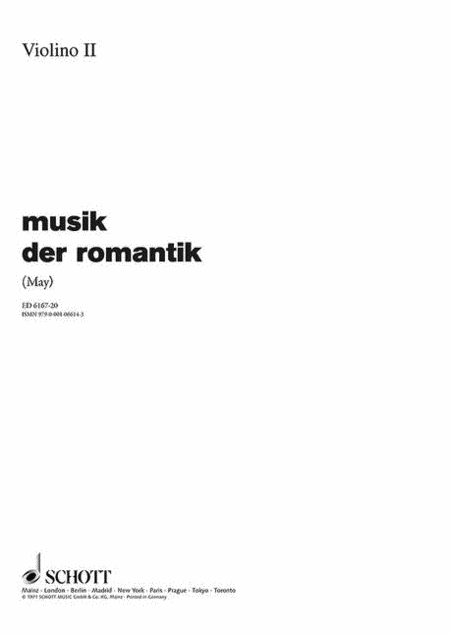 Music of Romantic