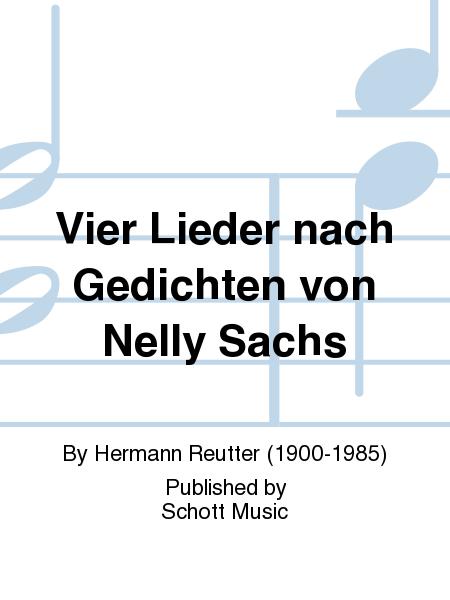 Vier Lieder nach Gedichten von Nelly Sachs