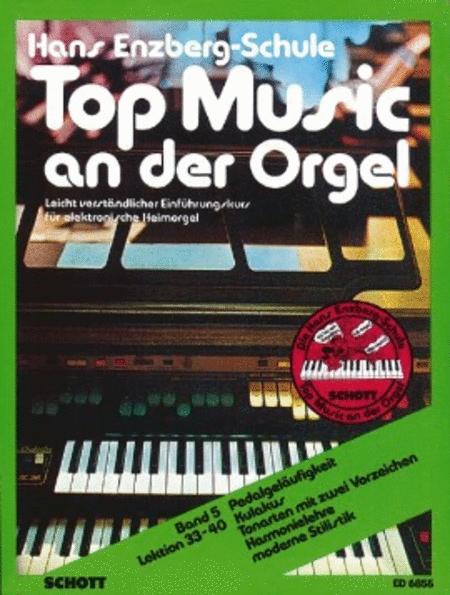 Top Music an der Orgel Band 5