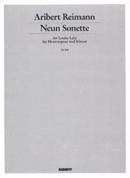 Neun Sonette der Louize Labe