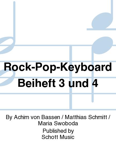 Rock-Pop-Keyboard Beiheft 3 und 4