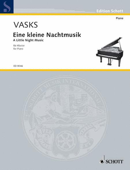 title eine kleine nacusik sheet music