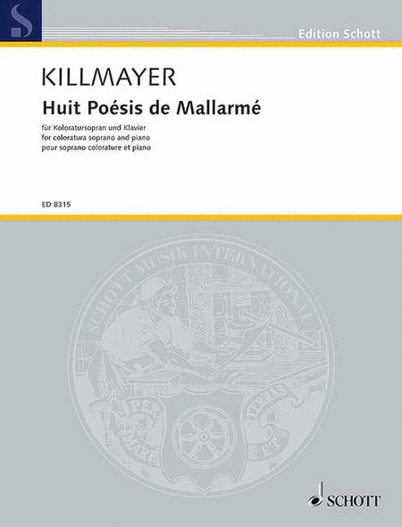 Huit Poesies de Mallarme