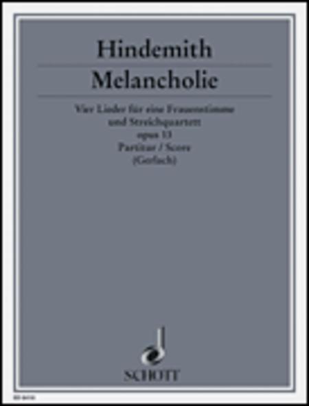 Melancholy op. 13